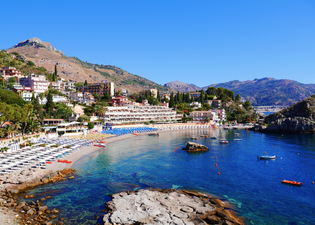 how to get to taormina from messina port