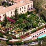 San Domenico Palace Hotel - Garden view